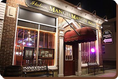 Mangiamangia Italian Kitchen Italian Restaurant Family